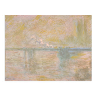 Claude Monet - Charing-Kreuz Brücke in London Postkarte