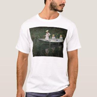 Claude Monet | das Boot bei Giverny, c.1887 T-Shirt