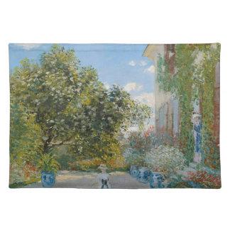 Claude Monet - das Künstler-Haus in Argenteuil Tischset