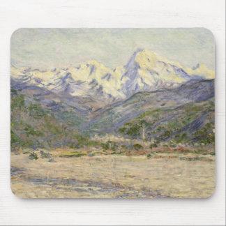 Claude Monet - das Tal des Nervia Mousepad