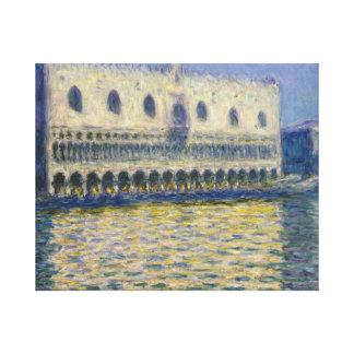 Claude Monet - der Doges-Palast Leinwanddruck