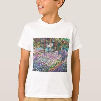 Claude Monet - der Garten des Künstlers bei Givern T-Shirt