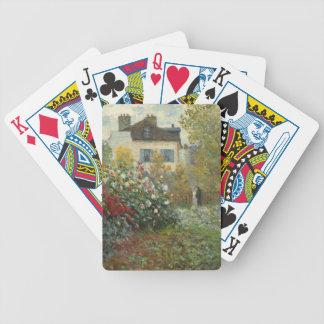 Claude Monet | der Garten des Künstlers in Bicycle Spielkarten