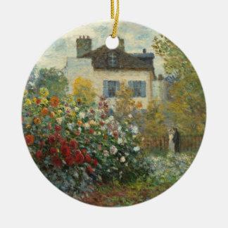 Claude Monet | der Garten des Künstlers in Keramik Ornament