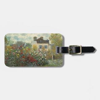 Claude Monet | der Garten des Künstlers in Kofferanhänger