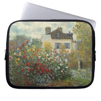 Claude Monet   der Garten des Künstlers in Laptopschutzhülle