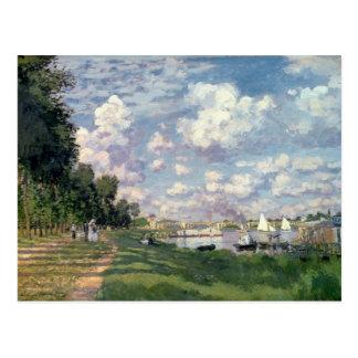 Claude Monet | der Jachthafen in Argenteuil, 1872 Postkarte