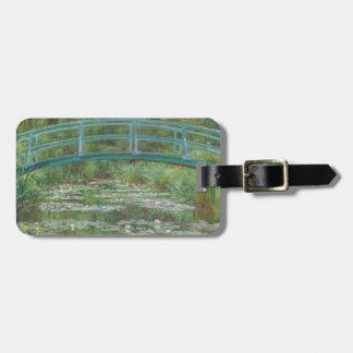 Claude Monet | der japanische Steg, 1899 Gepäckanhänger
