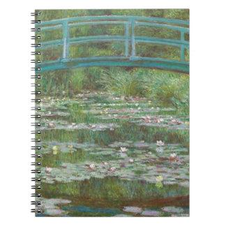 Claude Monet | der japanische Steg, 1899 Spiral Notizblock