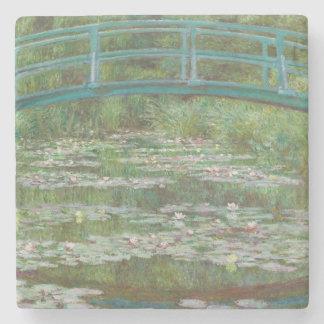 Claude Monet   der japanische Steg, 1899 Steinuntersetzer