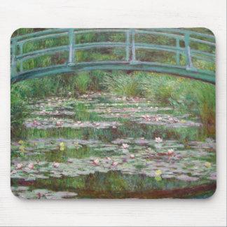 Claude Monet - der japanische Steg Mousepad