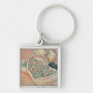 Claude Monet | der Korb der Trauben, 1884 Schlüsselanhänger