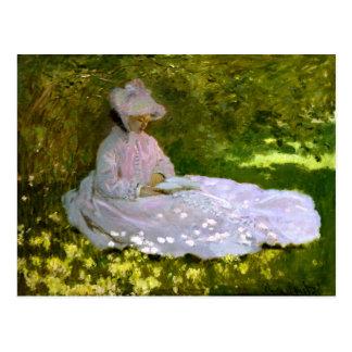 Claude Monet: Der Leser Postkarte