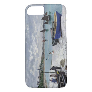 Claude Monet | der Strand bei Sainte-Adresse iPhone 8/7 Hülle
