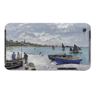 Claude Monet | der Strand bei Sainte-Adresse iPod Touch Hüllen