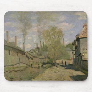 Claude Monet   der Strom von Robec in Rouen, 1872 Mauspad