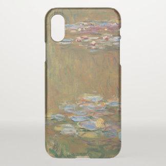 Claude Monet der Wasser-Lilien-Teich GalleryHD iPhone X Hülle