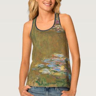 Claude Monet der Wasser-Lilien-Teich GalleryHD Tanktop
