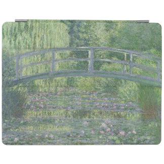 Claude Monet | der Wasserlilie-Teich: Grüne iPad Hülle
