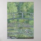 Claude Monet | der Wasserlilie-Teich: Grüne Poster