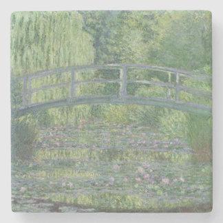 Claude Monet   der Wasserlilie-Teich: Grüne Steinuntersetzer