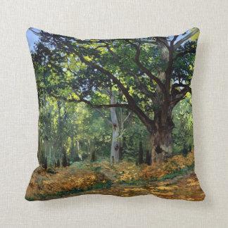 Claude Monet die Bodmer Eiche, Fontainebleau-Wald Kissen