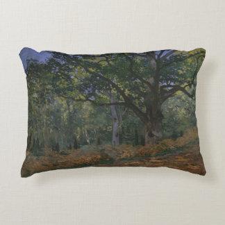 Claude Monet - die Bodmer Eiche, Fontainebleau Zierkissen