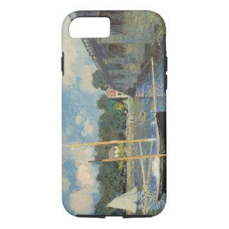 Claude Monet | die Brücke in Argenteuil iPhone 8/7 Hülle