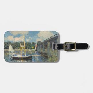 Claude Monet | die Brücke in Argenteuil Kofferanhänger