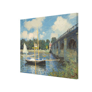 Claude Monet | die Brücke in Argenteuil Leinwanddruck