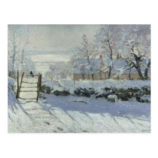 Claude Monet - die Elster Postkarte