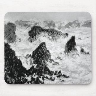 Claude Monet   die Felsen von Belle-Ile, 1886 Mousepads