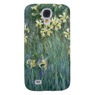 Claude Monet   die gelbe Iris Galaxy S4 Hülle