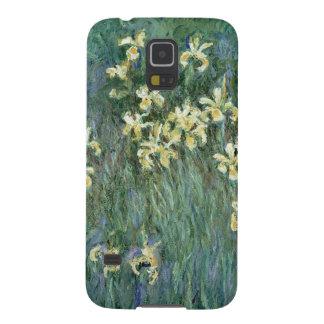 Claude Monet | die gelbe Iris Hülle Fürs Galaxy S5
