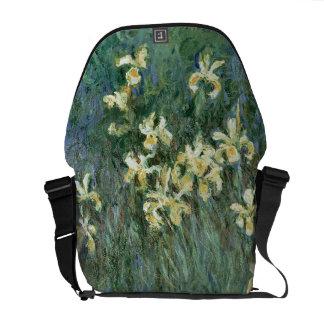 Claude Monet | die gelbe Iris Kuriertasche