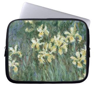 Claude Monet | die gelbe Iris Laptop Sleeve