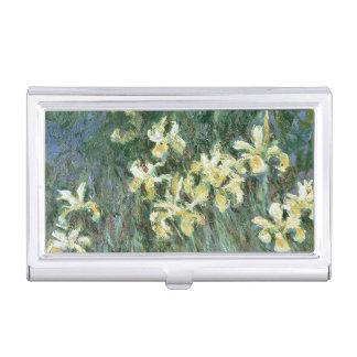 Claude Monet | die gelbe Iris Visitenkarten Etui