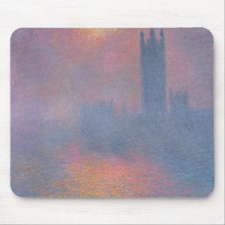 Claude Monet   die Häuser des Parlaments, London Mauspad