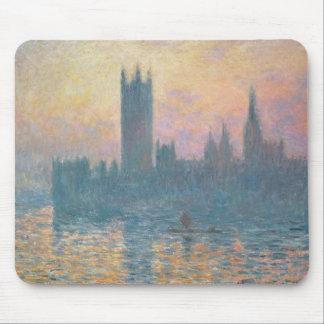 Claude Monet   die Häuser des Parlaments, Mauspads