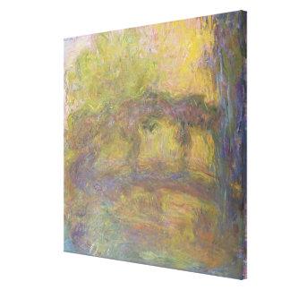 Claude Monet | die japanische Brücke, 1918-24 Leinwanddruck