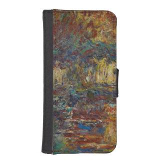 Claude Monet | die japanische Brücke Geldbeutel Hülle Für Das iPhone SE/5/5s