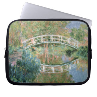 Claude Monet | die japanische Brücke, Giverny Laptop Sleeve