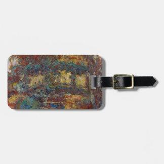 Claude Monet | die japanische Brücke Kofferanhänger