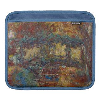 Claude Monet | die japanische Brücke Sleeve Für iPads