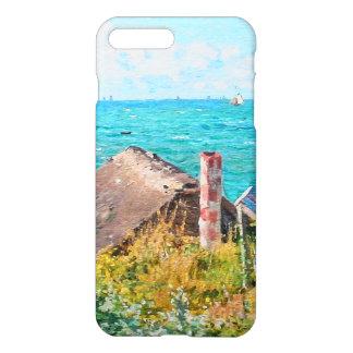 Claude Monet die Kabine an Heiliges-Adresse iPhone 8 Plus/7 Plus Hülle