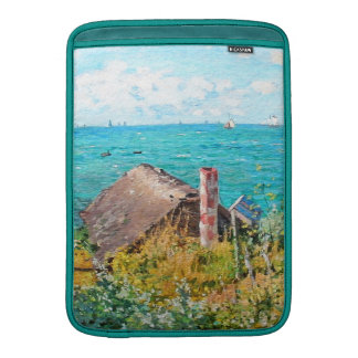Claude Monet die Kabine an Heiliges-Adresse MacBook Air Sleeve