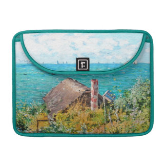 Claude Monet die Kabine an Heiliges-Adresse MacBook Pro Sleeve