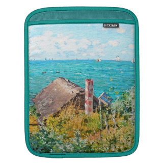 Claude Monet die Kabine an Heiliges-Adresse Sleeve Für iPads