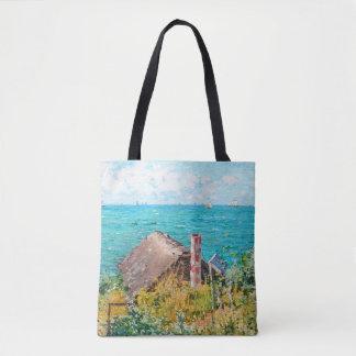 Claude Monet die Kabine an Heiliges-Adresse Tasche