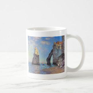 Claude Monet //die Klippen bei Etretat Teetasse